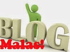 Malas Ngeblog, Ini Solusinya!