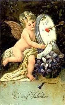 carte ancienne St Valentin