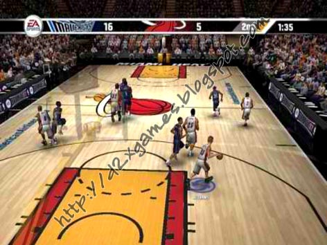 Free Download Games - NBA Live 07