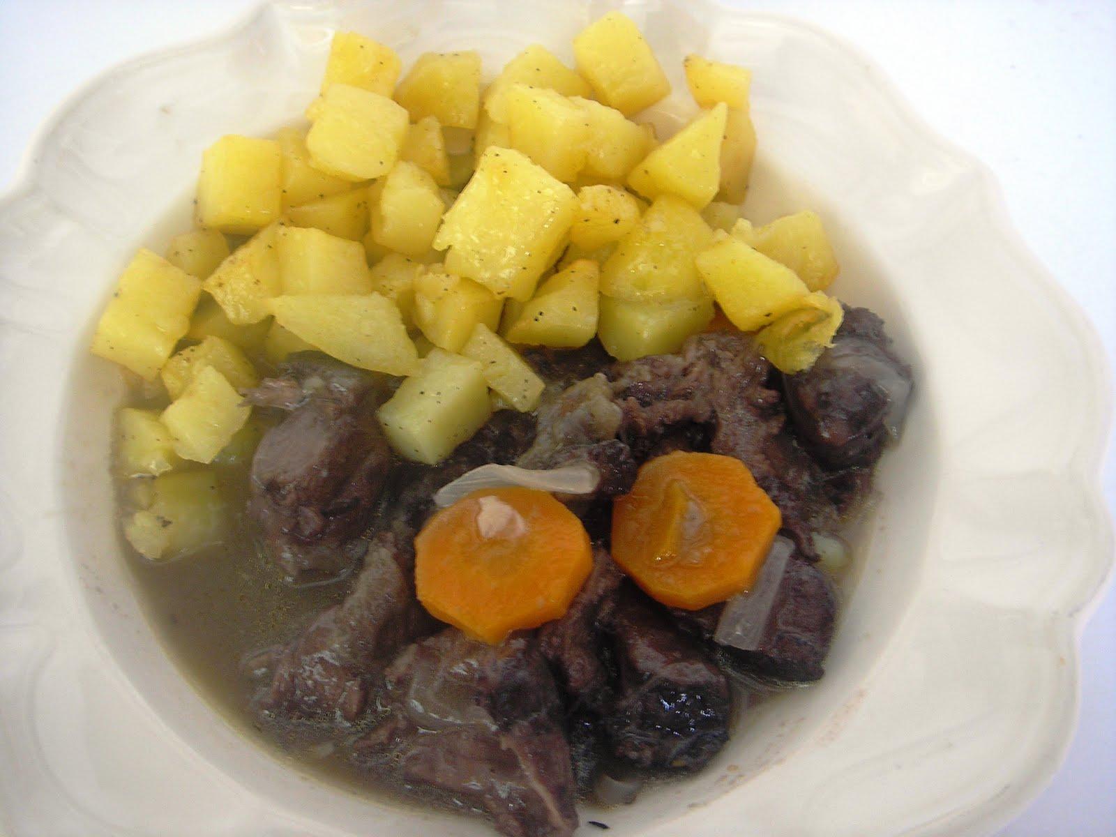 Entre puntadas e hilos el rececho del corzo for Corzo con patatas
