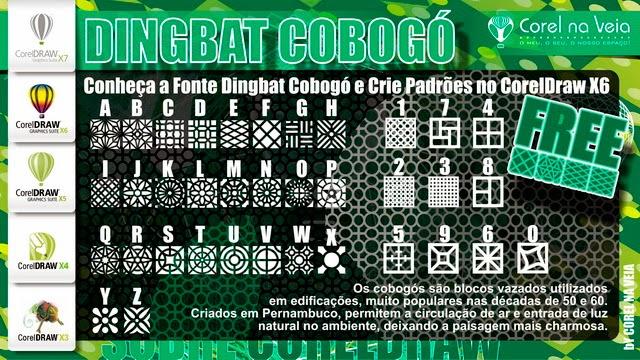 Fonte Dingbat Cobogó