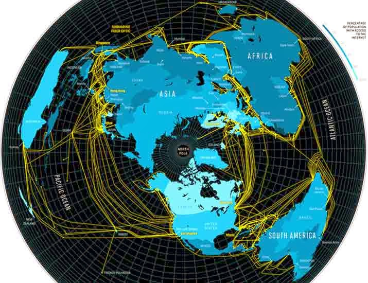 Undersea Internet Cables Cut Again in Egypt Marine