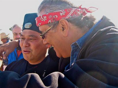 Rafael con el maestro taoísta