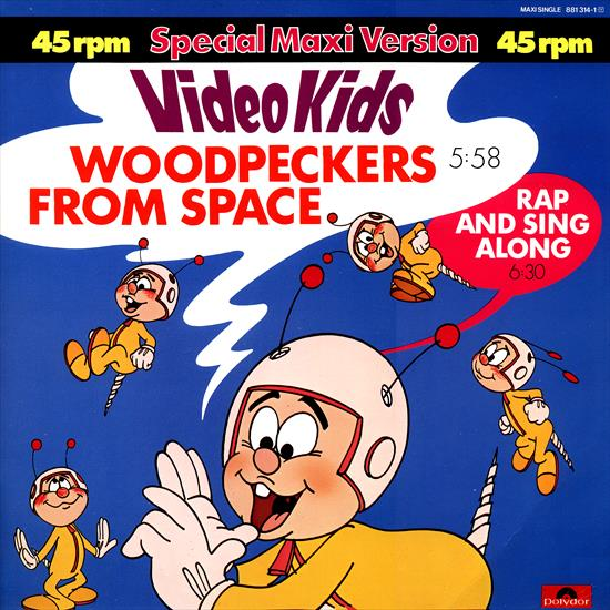 Video Kids - Woodpeckers From Space (Vinyl, 12