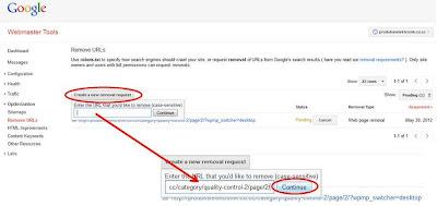 Cara Mengatasi URL Error di Webmaster
