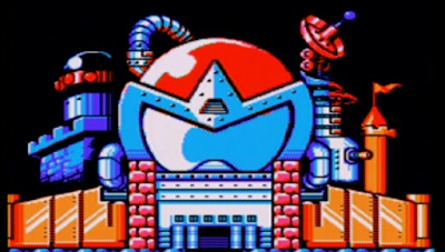 Proto Man castle Megaman Mega 5 Dark fortress