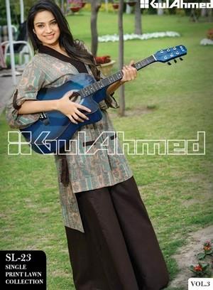 Gul Ahmed Lawn Vol 3 | Gul Ahmed Summer Lawn Magazine 2013 - KAFTAN ...