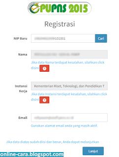 Cara Registrasi PUPNS BKN 2015