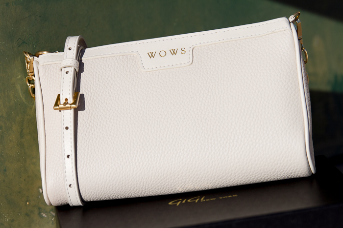 Ivory MAGGIE Cross-Body Bag- Pebble Grain GIGI New York