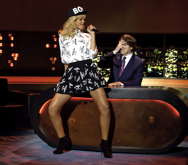 Rihanna Boy London Jonathan Ross 2012