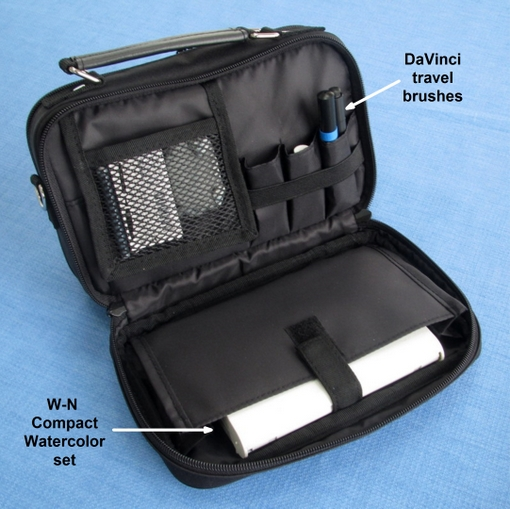 Everyday Artist Compact Carrier For Travel Art Supplies