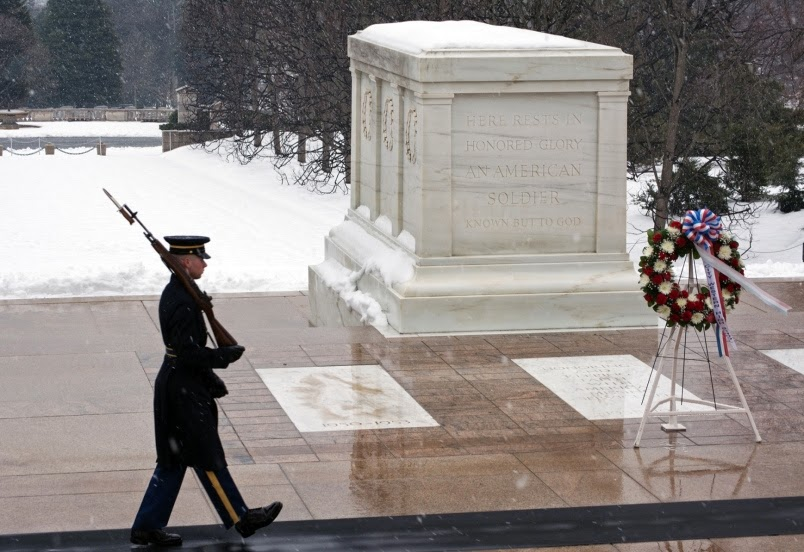 Military News - Army medic becomes guard at Tomb of the Unknown Soldier