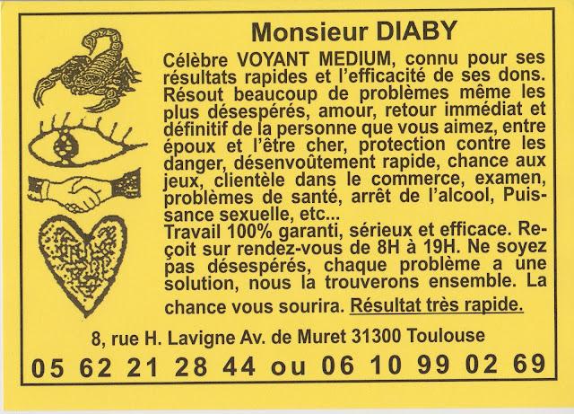 Monsieur DIABY
