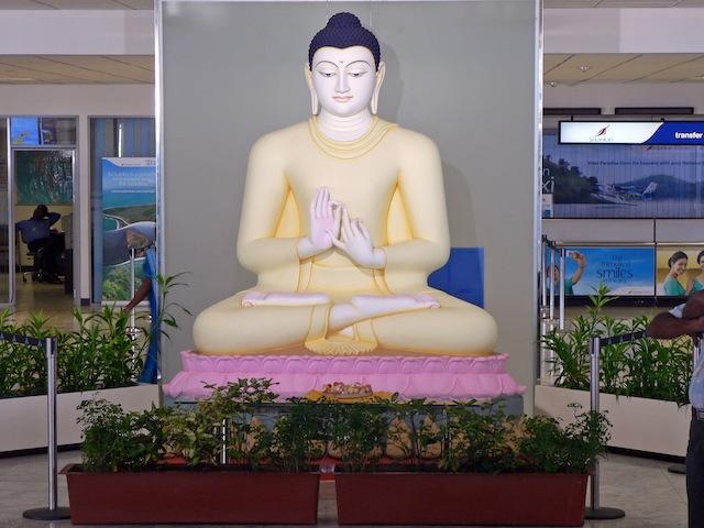 Sylvie au Sri Lanka