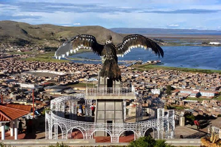 Panorámica de Puno, Perú