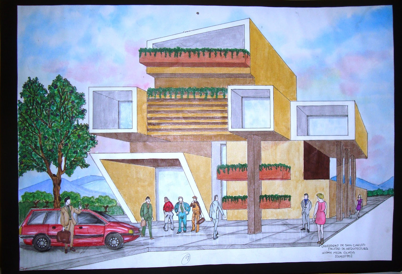 Portafolio dise o arquitectonico 4 presentacion for Donde puedo estudiar arquitectura