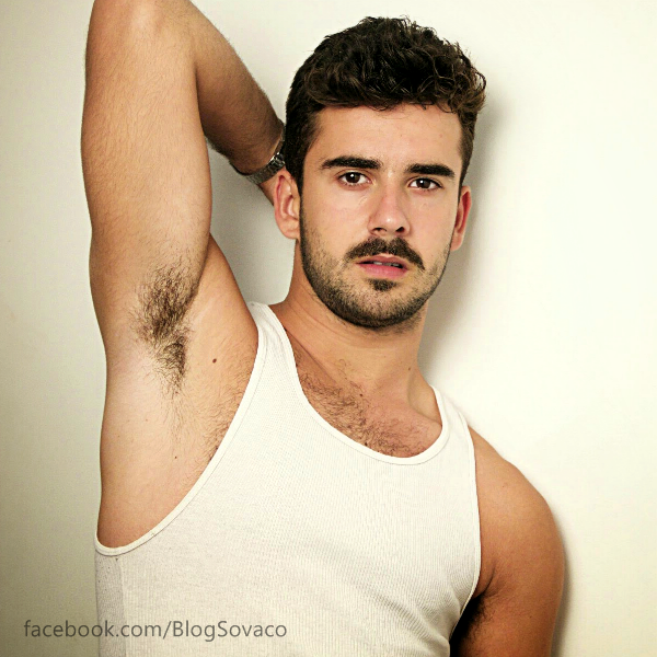 Hot Young Man's Hairy Armpits