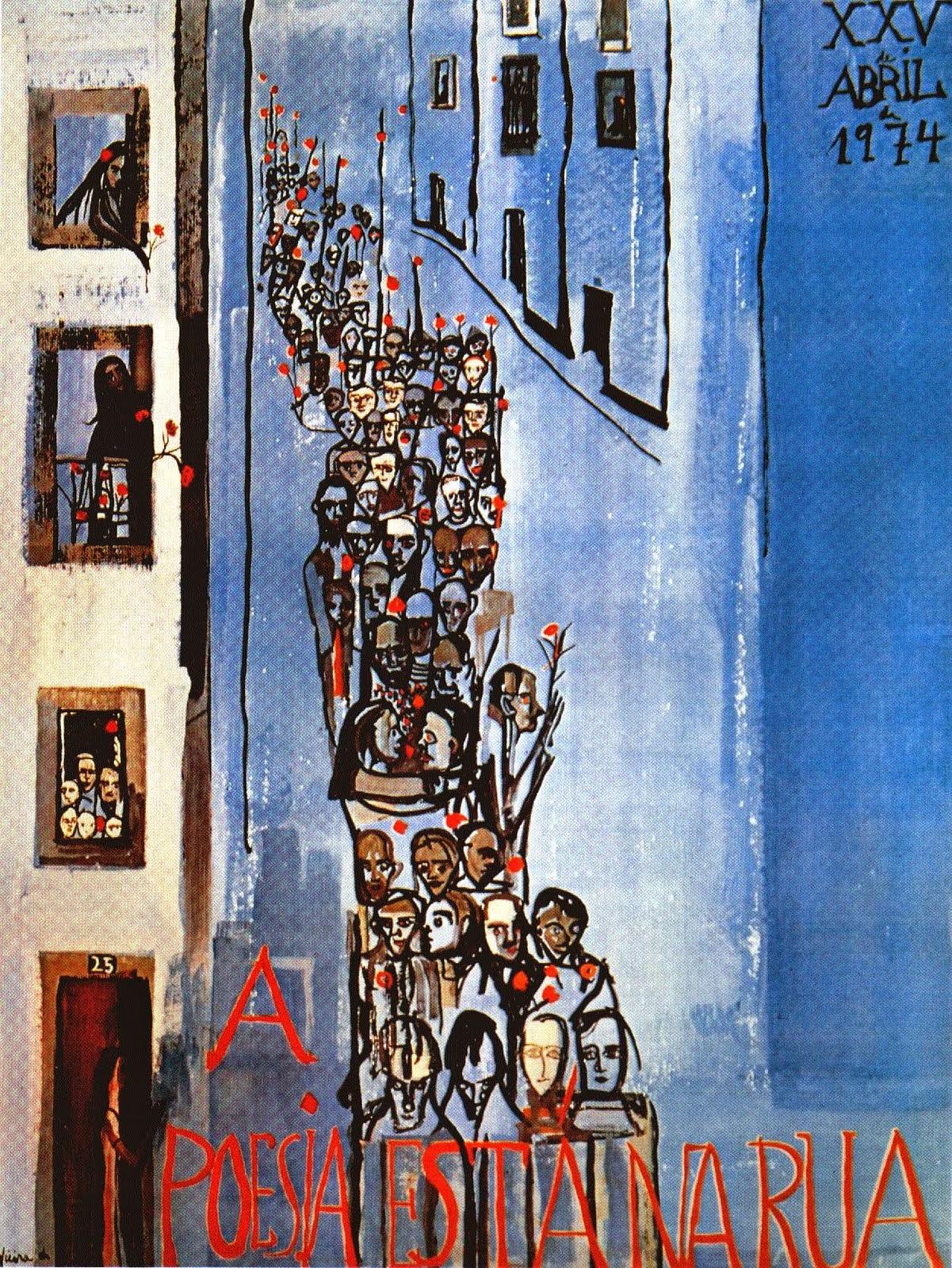 A Poesia Está na Rua, 25 de Abril de 1974, Cartaz Vieira da Silva