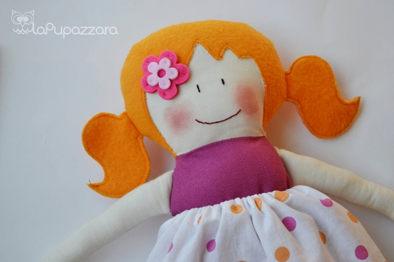 Bien connu La Pupazzara: Bambola di Stoffa OH88