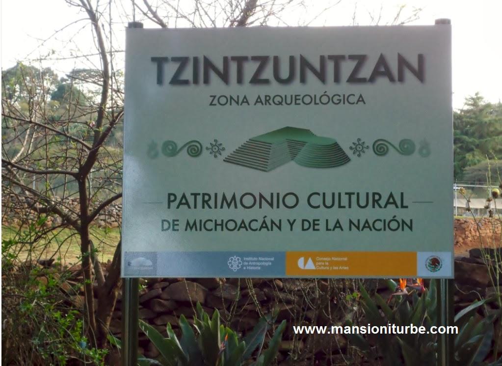 Tzintzuntzan Zona Arqueologica Patrimonio Cultural de México