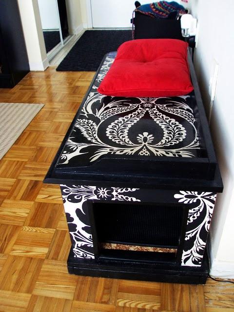 Cat Litter Box Enclosure Furniture