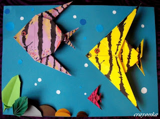 ryby z origami