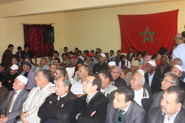 إعدادية أنوال بعين قنصرة نيابة مولاي يعقوب تخلد الذكرى 40 للمسيرة الخضراء المظفرة بحضور ثلاثة من رموز المقاومة وجيش التحرير