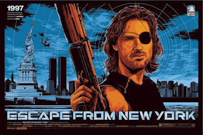 San Diego Comic-Con 2015 Exclusive Escape From New York Variant Screen Print by Ken Taylor x Mondo