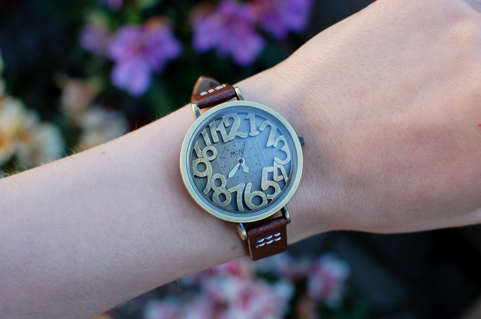 Copper Numbers Miniwatch