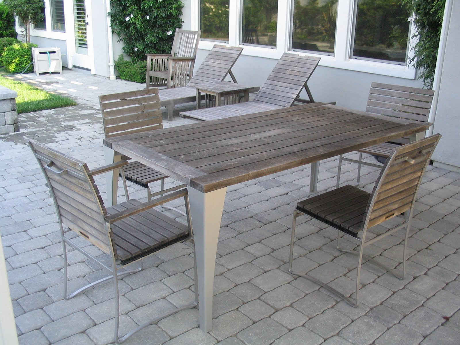 Teak Restoration In Los Angeles Has Been Perfected By Teak Master! We  Understand That Maintaining Your Teak Furniture May Have Slipped Your Mind.