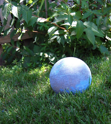 concrete garden globe projects