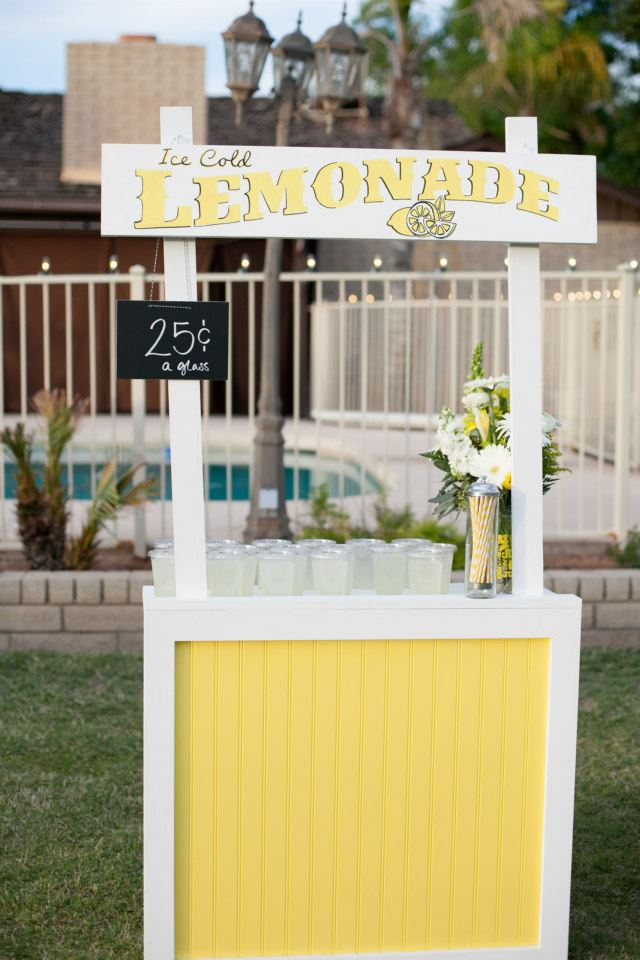 craftify it collapsible lemonade stand