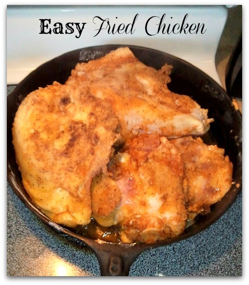 Call Her Blessed: Easy Fried Chicken