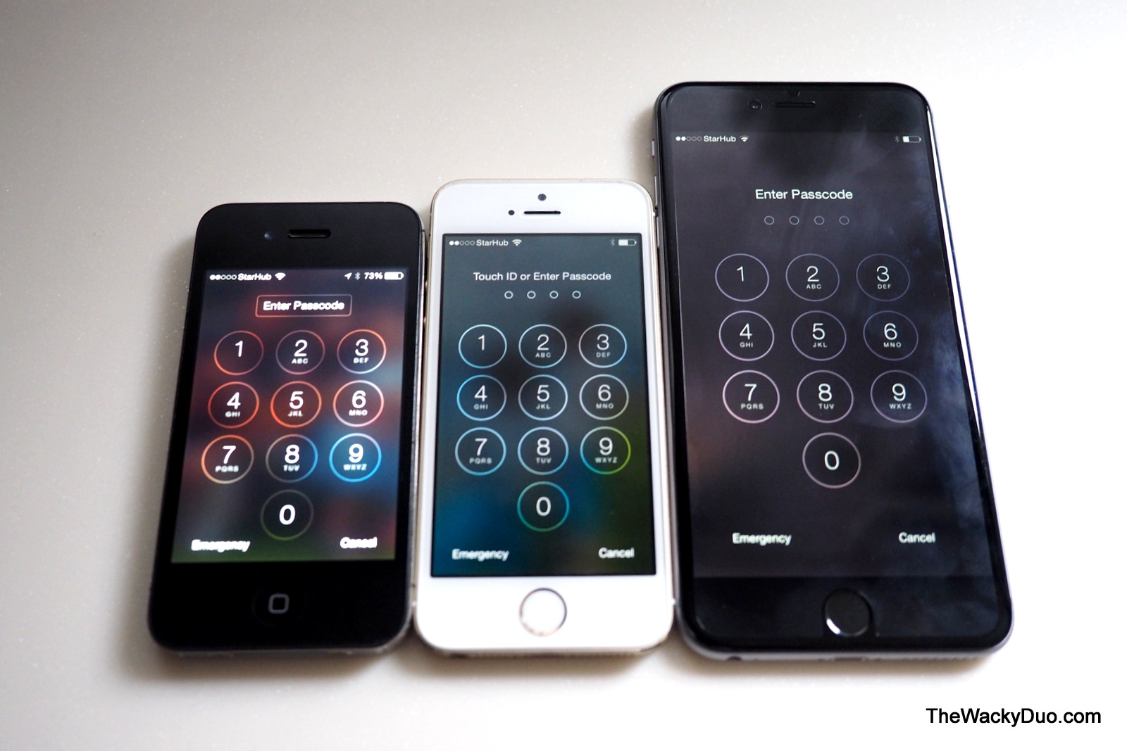 IPhone 4s Vs 5s 6 Plus