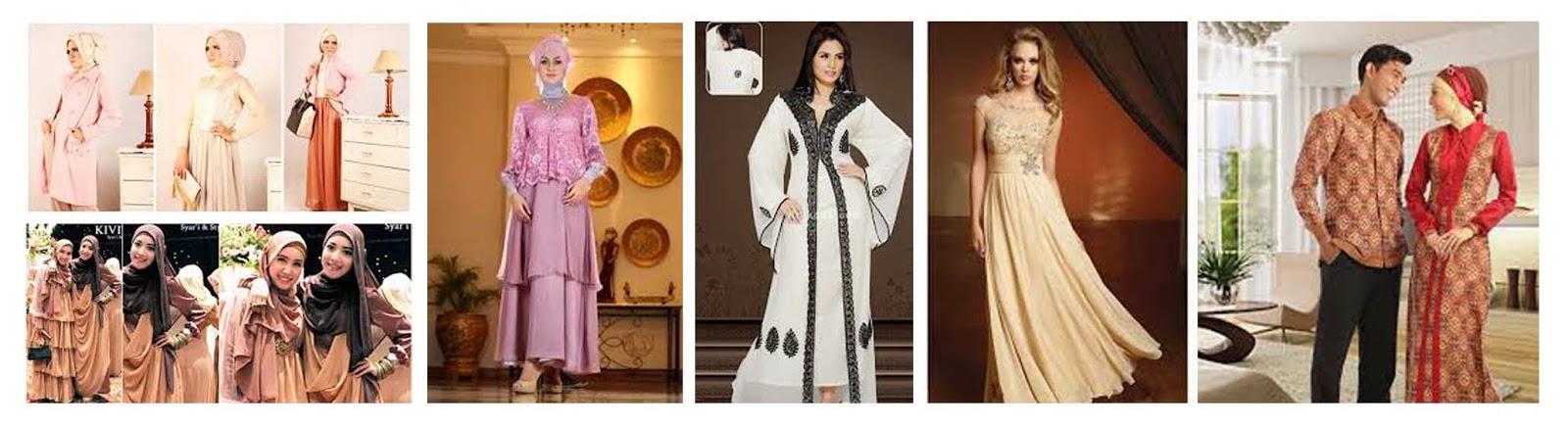 Busana Muslim Pesta Pernikahan Yang Fashionable