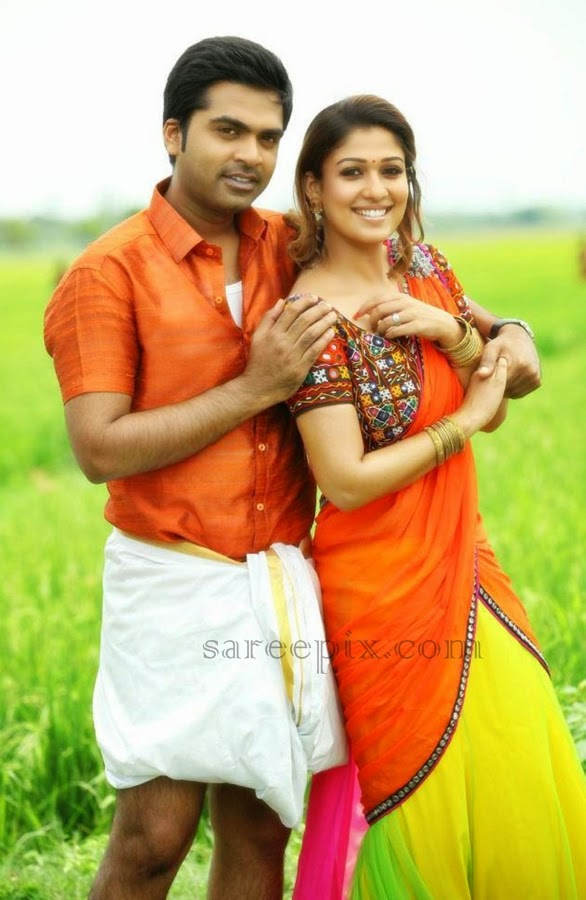 Nayanatara-half-saree-Idhu-namma-aalu-movie