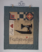 Featherweight quiltje 2012