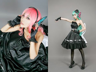 Vocaloid Magnet Luka and Miku cosplay by Tasha and Ren