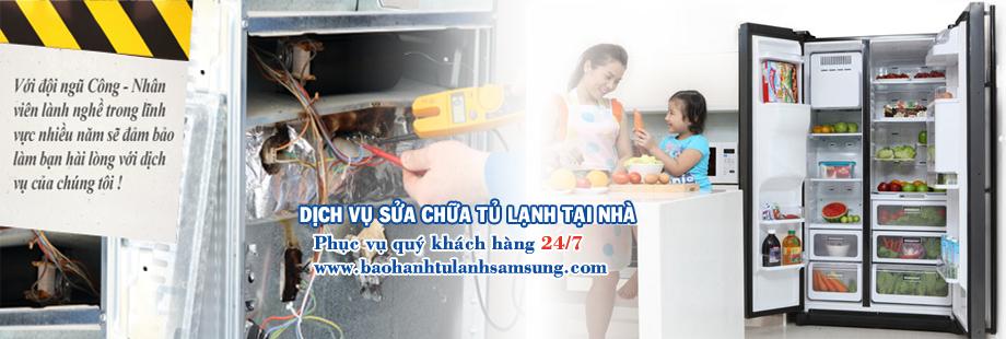 Chuyên sửa chữa tủ lạnh samsung tại Hà Nội