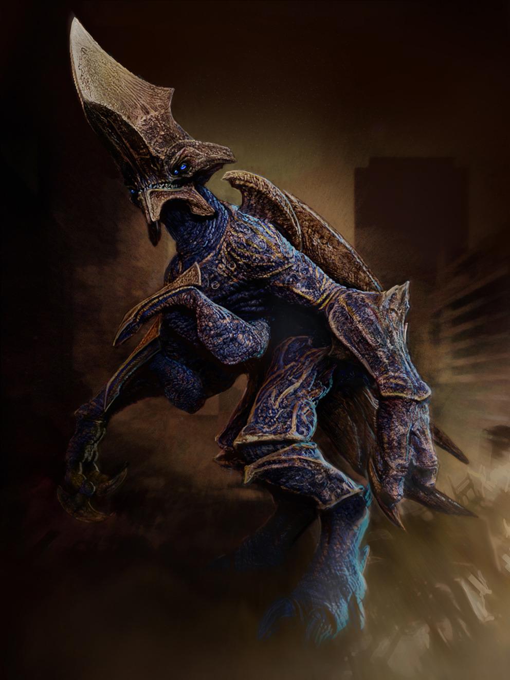 Kaiju Battle: Pacific Rim Concept Art Pacific Rim Concept Art