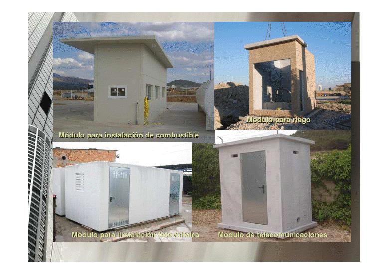 Casetas cerradas para calderas en madrid cerramientos for Naves prefabricadas de hormigon precios