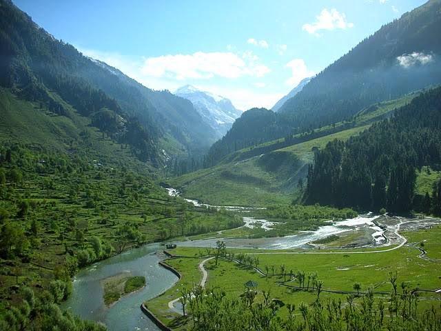 Betaab Valley, Pahalgam, Kashmir