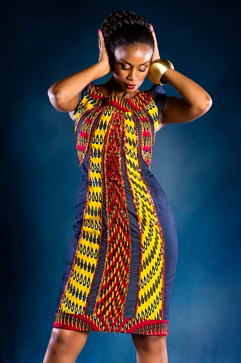 Lookbook eve denim kitenge collection ciaafrique african fashion beauty style Ciaafrique fashion beauty style