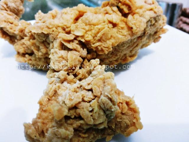 Resep ayam krispi rumahan, resep ayam chiken ala KFC, resep fried chiken rumahan, http://kataella.blogspot.com, emak-emak blogger