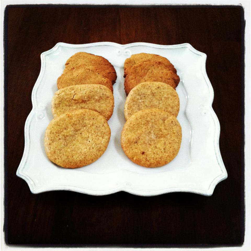 Recipes and Tips To Fight M.S.: Almond Orange Cookies