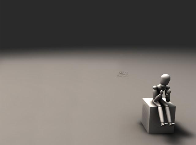 sad alone
