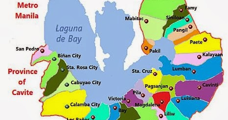 Awesome Places To Visit IAMTHUR - Calamba city map