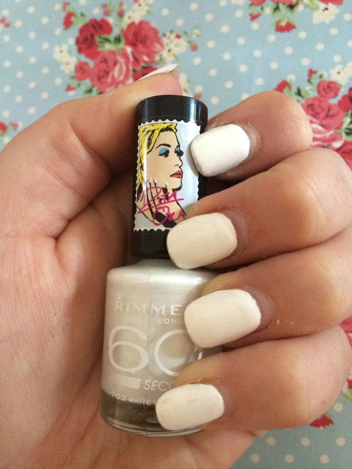 Rimmel by Rita Ora 60 Second Nail Polish - White Hot Love