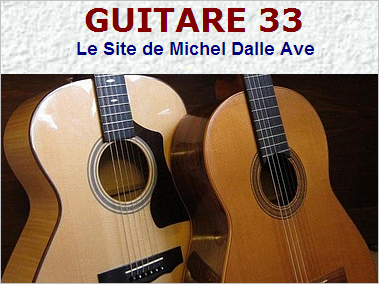 Guitare 33 · Le Site de Michel Dalle Ave