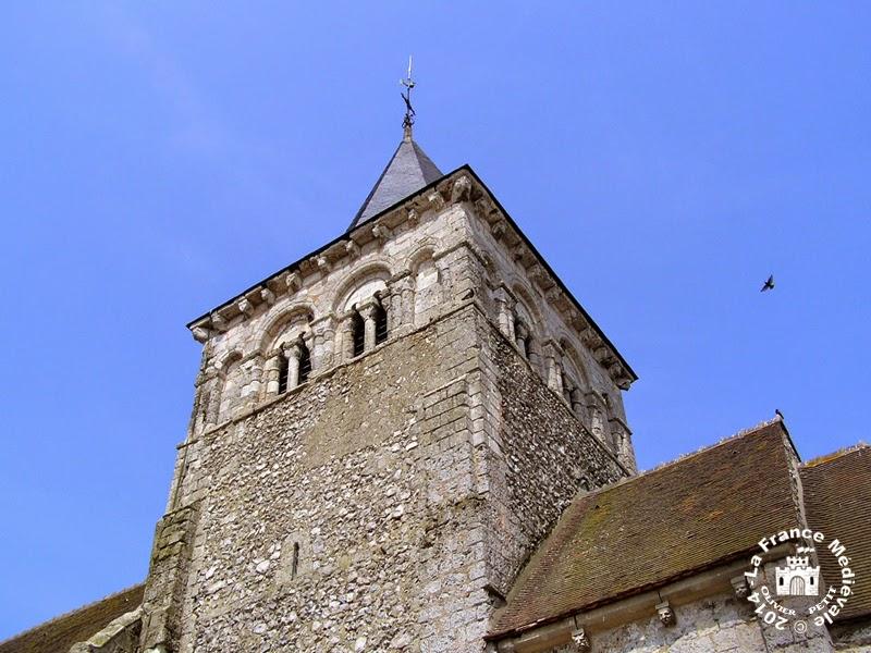 VIRVILLE (76) - Eglise Saint-Aubin